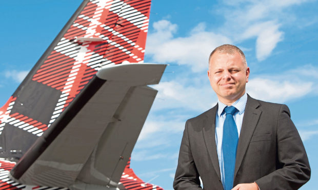 Jonathan Hinkles, Chief Executive of Loganair