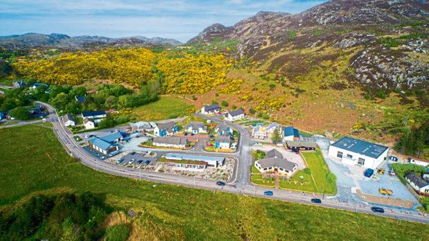 Community Housing Trust's development at Gairloch.