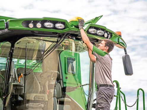 Machinery owners are urged to be on their guard against potential raiders who have designs on their expensive GPS equipment