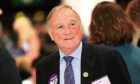 Malcolm Bruce at the Independence referendum count for Aberdeenshire. Picture by Kami Thomson.