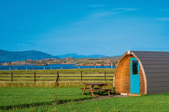 Farm tourism businesses, such as glamping in the Hebrides, have been among the hardest hit by the pandemic