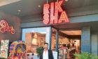 Riksha restaurant owner Khalis Miah