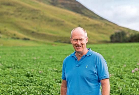 Robert Doig from Caledonia Potatoes.