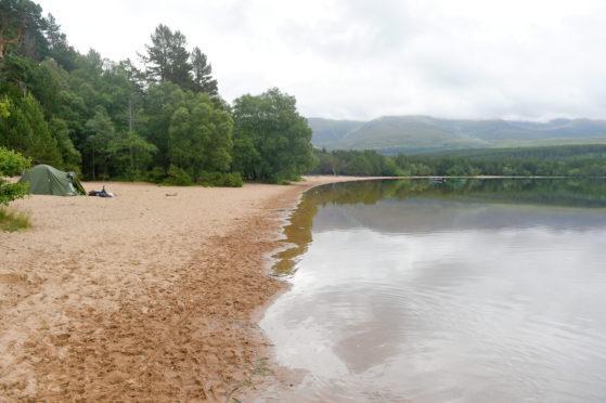 Loch Morlich earlier this year