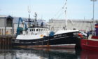 The Fishing boat Acorn INS 237 in Peterhead Harbour Picture by Paul Glendell