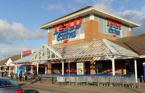 Tesco Extra at Eastfield Way, Inverness