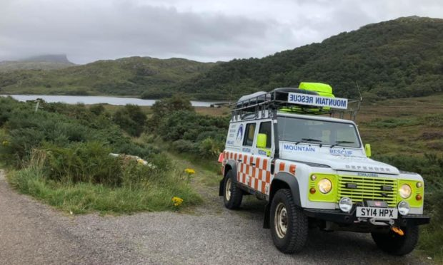 Assynt Mountain Rescue Team was called to Suilven