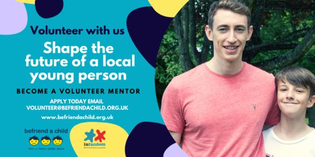 Befriend a Child is recruiting new volunteer mentors.