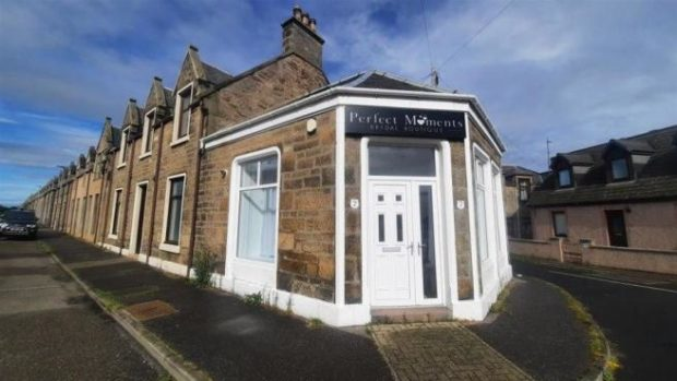 Perfect Moments Bridal Boutique in Buckie could be transformed into a podiatry clinic.