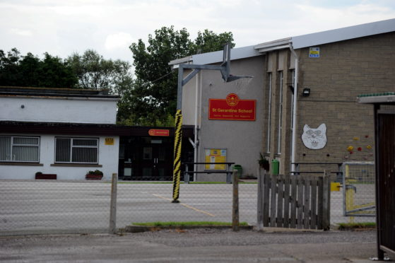St Gerardin's Primary School, Lossiemouth.