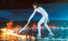 Cathy Freeman lit the torch at the Sydney Olympics in 2000.