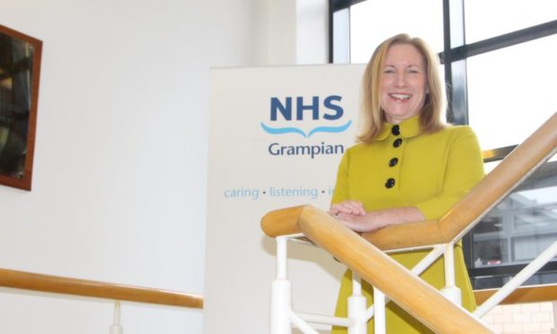 Prof Caroline Hiscox has been appointed the new chief executive of NHS Grampian.