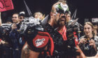 Road Warrior Animal in his prime. WWE/PA Wire