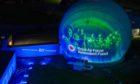 The RAF's Head Buchan defence radar at Stirling Hill.. Peterhead. Courtesy RAF Benevolent Fund  Date; 14/09/2020