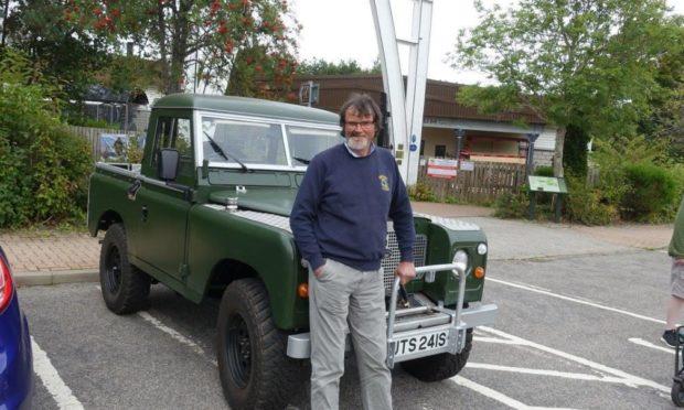 Grampian Transport Museum curator Mike Ward.