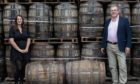 Moray Chamber of Commerce has launched new posters to encourage people to picture two whisky barrels to socially distance.