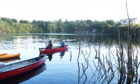 The canoe activities now on offer at Rubislaw Quarry