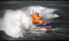 The Aberdeen RNLI all-weather lifeboat Bon Accord
