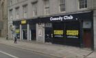 The former Breakneck Comedy Club. King Street, Aberdeen.