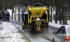 Aberdeenshire Council is warning Covid-19 could potentially force them to advise people to stay at home as roads won't be gritted this winter. Picture shows; Aberdeenshire Council gritters. Aberdeenshire roads. Courtesy Aberdeenshire Council