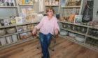 Interior designer Isobel Kirkland at her shop Finishing Touches on Forres High Street.