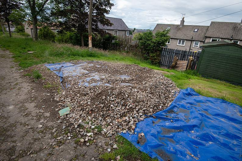 Aberdeen residents urged not to fly-tip Picture shows; Fly-tipping at Kincorth Hill. Kincorth Hill. Courtesy Aberdeen City Council Date; Unknown