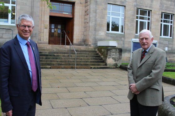 Lords-Lieutenants  and Andrew Simpson from Banffshire and Seymour Monro from  Moray