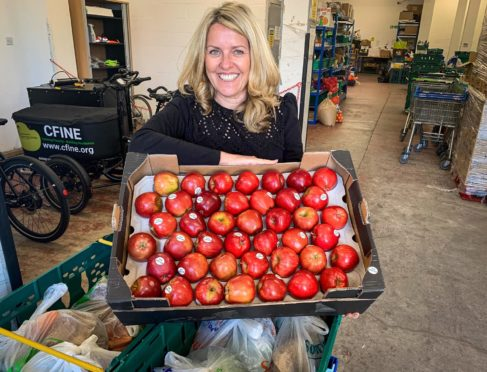 Lisa Duthie, chief executive of Community Food Initiatives North East based in Aberdeen.