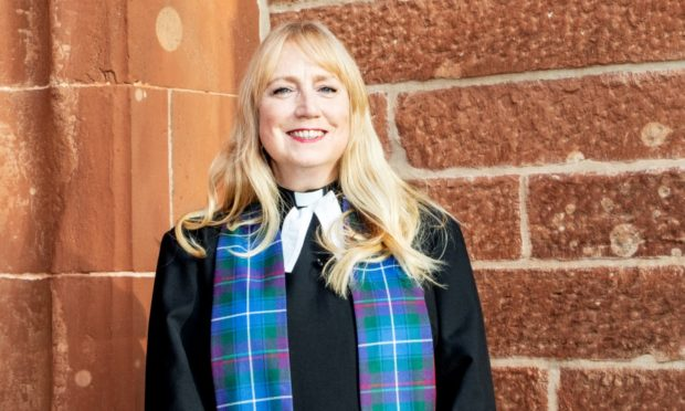"""Lorna Tunstall says making her arrival at the manse in Brora will be a """"homecoming""""."""