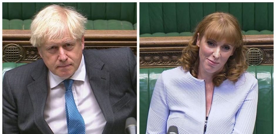 Boris Johnson came up against Angela Rayner at PMQs.