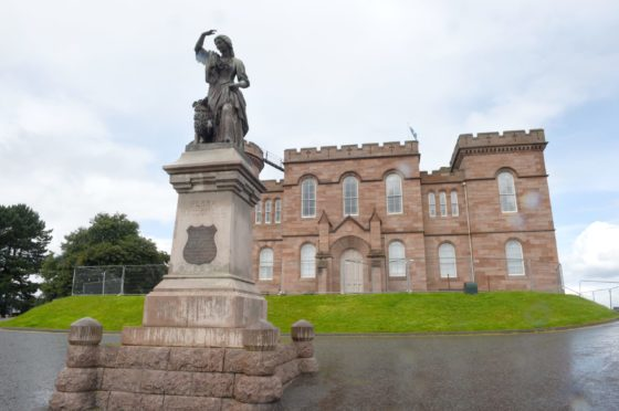 Inverness Castle, which is to undergo work to turn it into a tourism 'gateway'. Picture by Sandy McCook