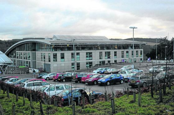 The Robert Gordon University (RGU) Campus on Garthdee Road, Aberdeen. Picture by Darrell Benns