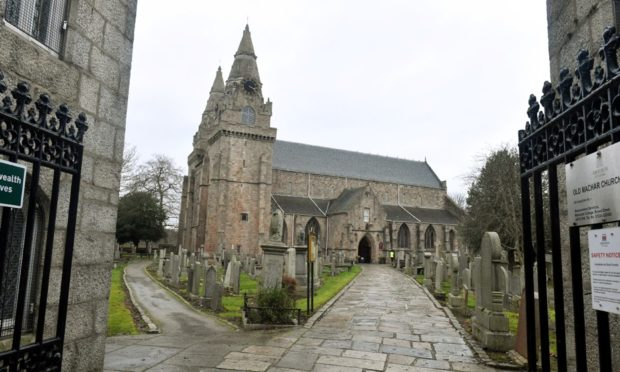 St Machar's Cathedral.  Picture by Chris Sumner.