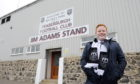 James Adams is following in his Grandfather's footsteps and becoming a director at Fraserburgh Football Club.