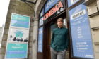 Pictured is Colin Farquhar, manager of Belmont Cinema, at Belmont Cinema, Belmont Street, Aberdeen. He has launched a survey of local film fans on how they would feel about returning to the cinema as the Coronavirus lockdown is eased.  Pictured on 19/06/2020 Picture by DARRELL BENNS