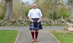 Craig Wilson aka The Kilted Chef from Eat On The Green, Udny Green.