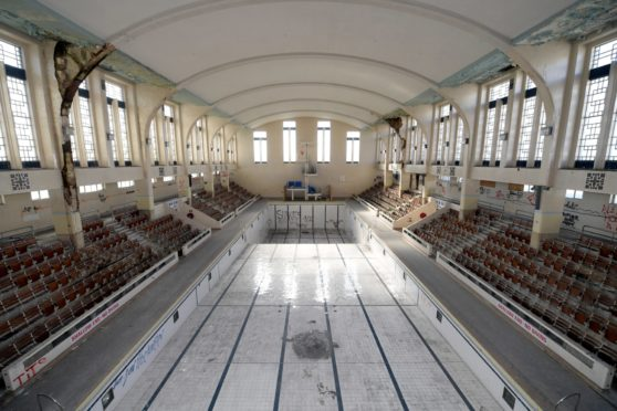 A picture of a previous Bon Accord Baths open day. Photo by Kath Flannery.