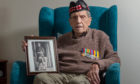 Donald Smith at his home in Forres. Picture by Jason Hedges.