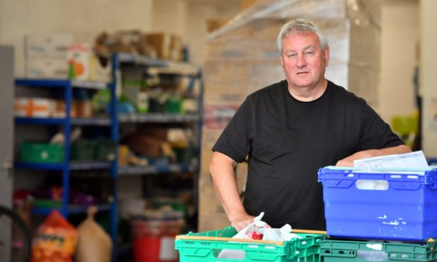 CFine development work manager Dave Kilgour has concerns potential redundancies in the north-east will mean thousands more will have to turn to the charity for help.     Picture by Kami Thomson.