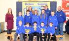 Pupils from Clerkhill School in Peterhead.