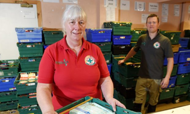 Lorna Dempster and Luke Matheson of Blythswood