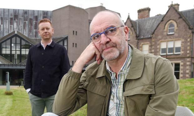 James Mackenzie-Blackman (left) and Steven Wren outside Eden Court
