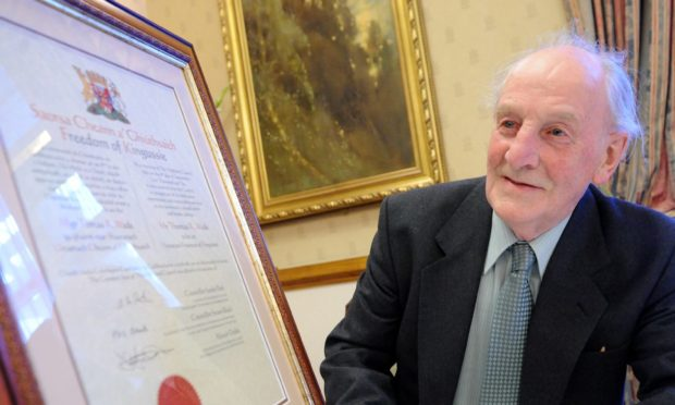 Residents lament 'end of an era for Kingussie' with the passing of former councillor Tom Wade