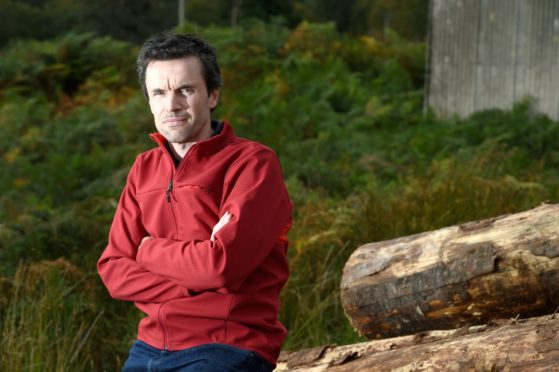 Highland councillor Ben Thompson. Picture by Sandy McCook