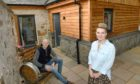Claire and Paul Daniels of Delny Glamping, Invergordon are donating a luxury stay in their newly renovated accommodation in support of the Ben Saunders Foundation.
