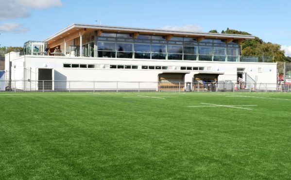 Highland RFC's home at Canal Park
