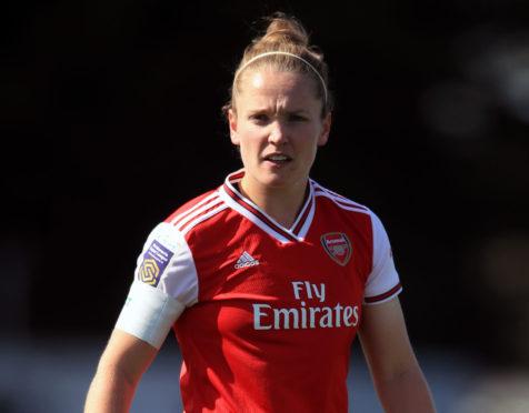 Arsenal Women's captain Kim Little.