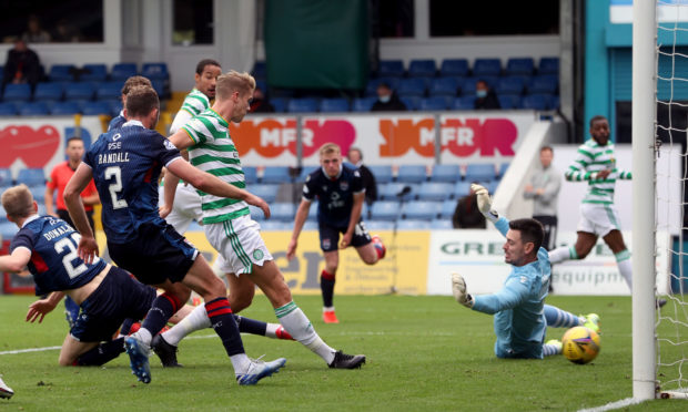 Some fans were previously allowed in to watch Ross County's home game against Celtic.