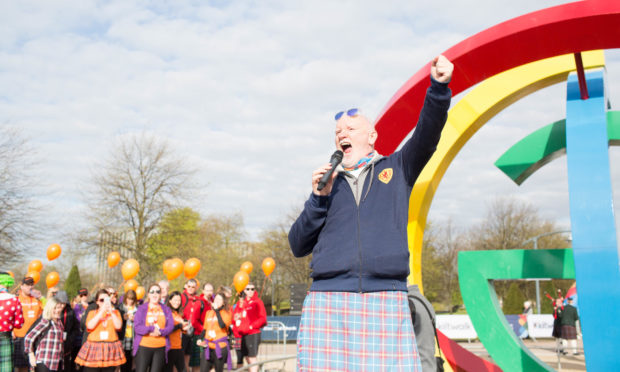 Sir Tom Hunter thanks effort made by thousands of Scots through virtual Kiltwalk