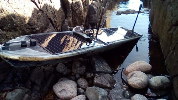 The boat found on Tiree